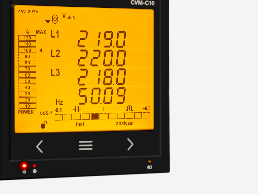 LCD Displays for Electrical Measuring Instruments