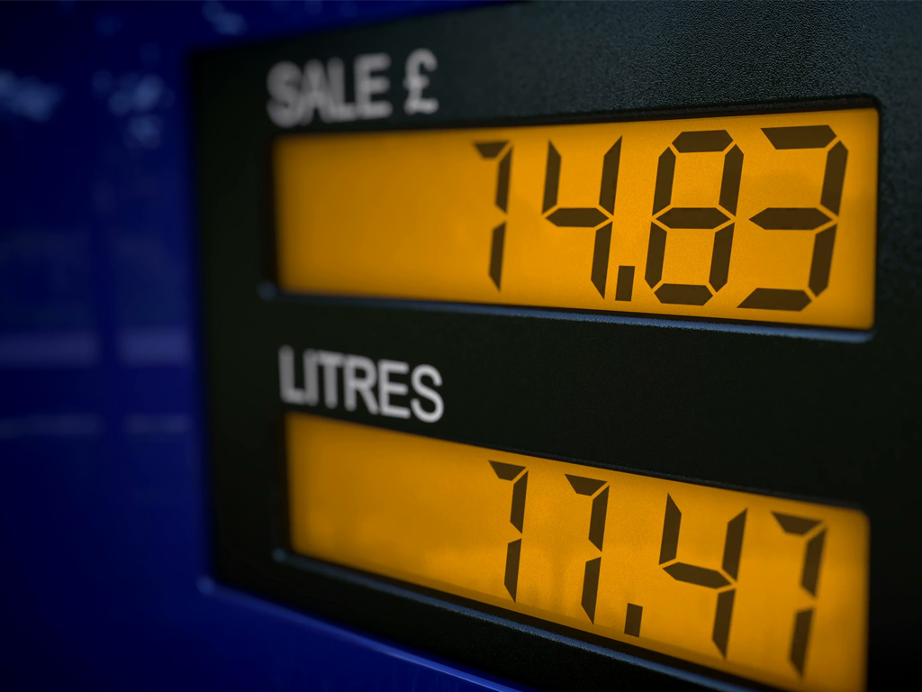 LCD Displays for Fuel Pumps