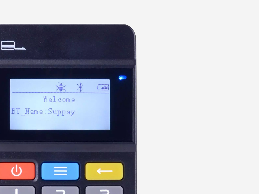 LCD Displays for Payment Systems