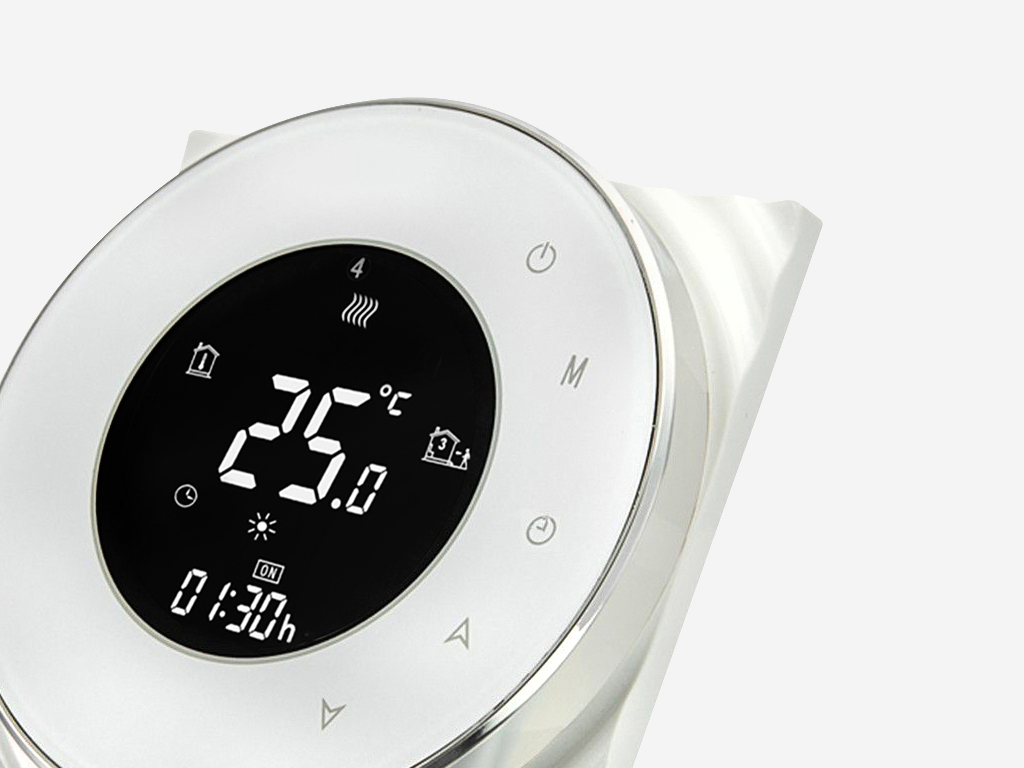 LCD Displays for IoT Applicances Room Thermostat