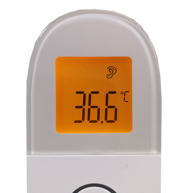 Forhead & Ear Thermometer LCD Display
